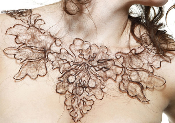 Human Hair Necklaces by Kerry Howley | Bored Panda