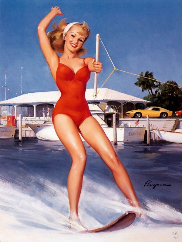 But sexy pin ups what