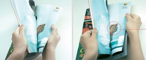 Check out these creative magazine ads