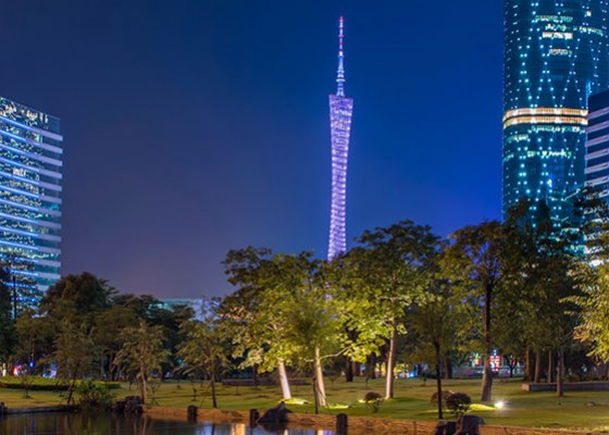 The Amazing Four Seasons in Guangzhou