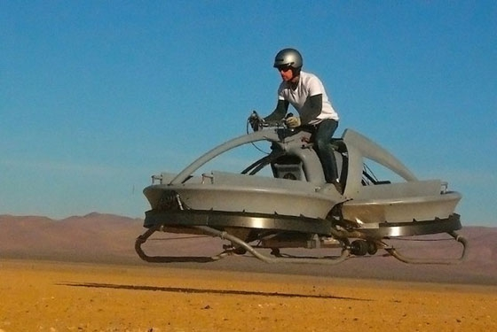 Aerofex Hovering Speeder Bike