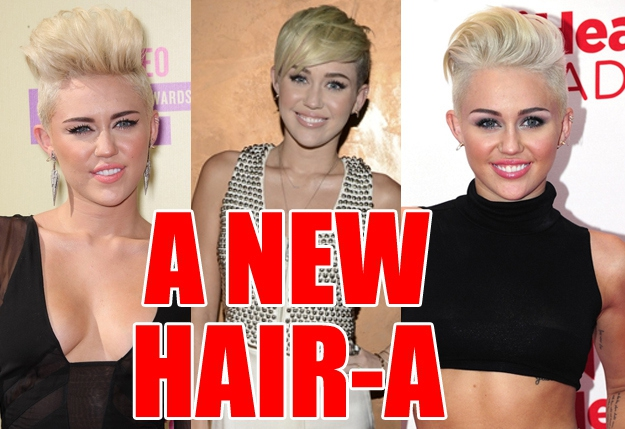 Now: a brand-new Miley