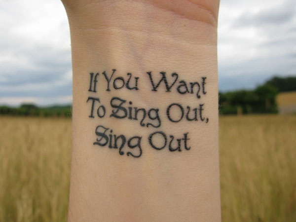 "Cat Stevens, ""If You Want To Sing Out, Sing Out"""