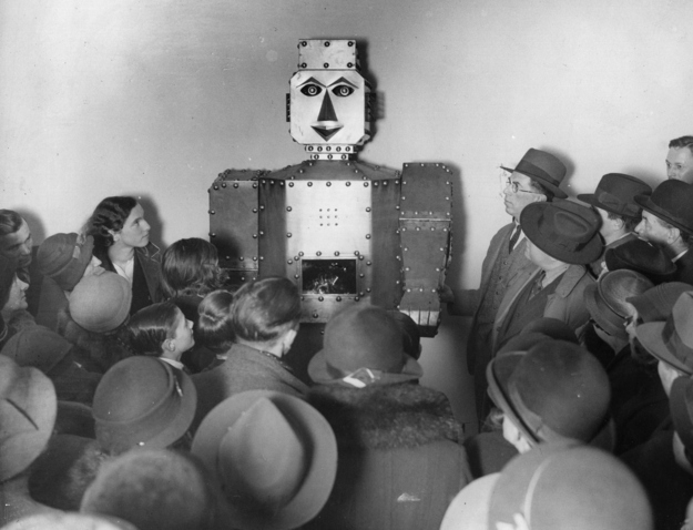 Creepy Robots from the 20s and 30s