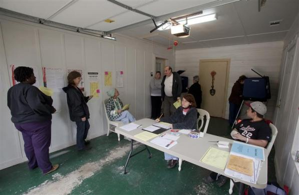 Weird Polling Places