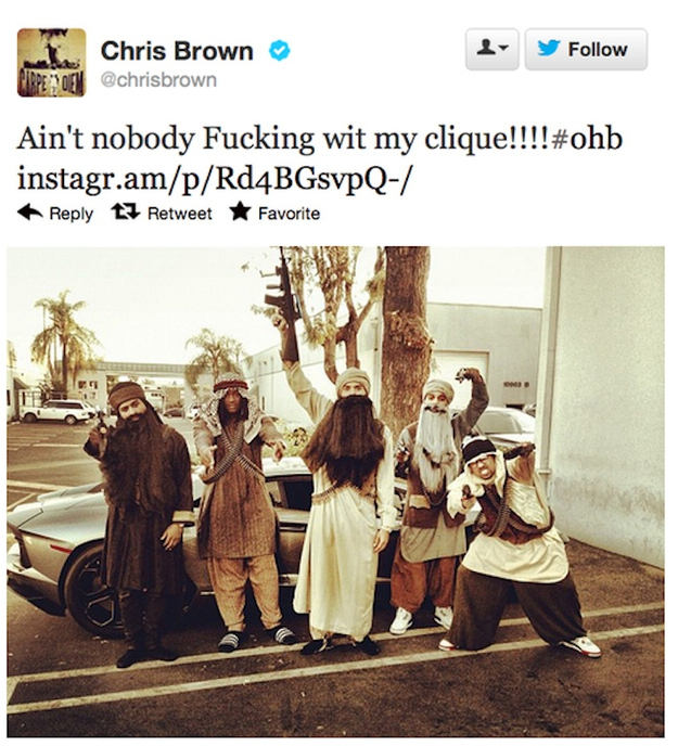 Chris Brown is an idiot