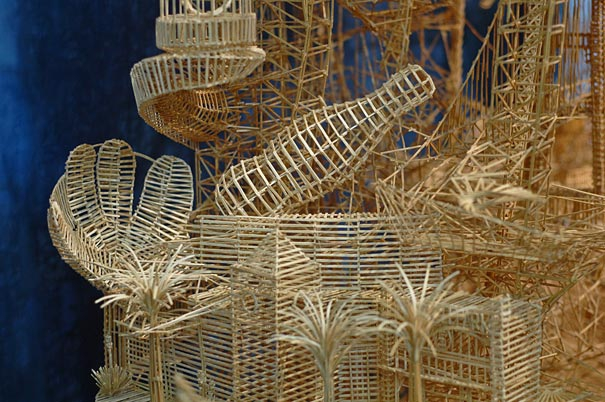 One Man and 100,000 Toothpicks
