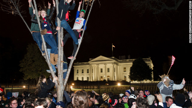 Climbing trees in D.C.
