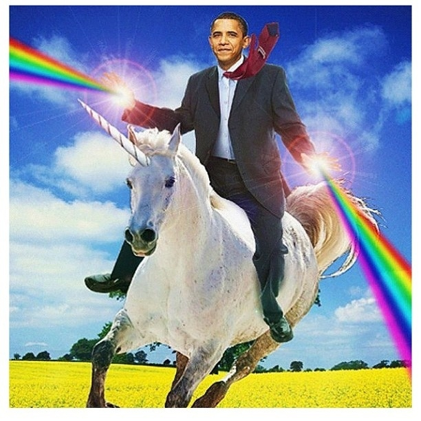 Four More Years! (Of Obama Photoshops) от mick за 08 nov 2012