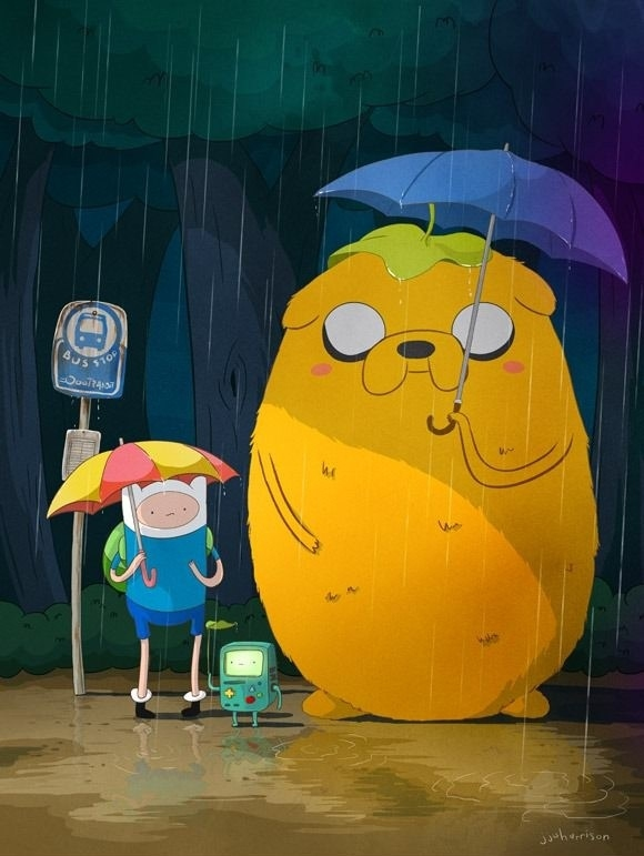 Adventure Time has some of the best fan art.