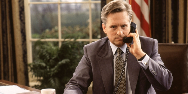 "Michael Douglas in ""The American President"""