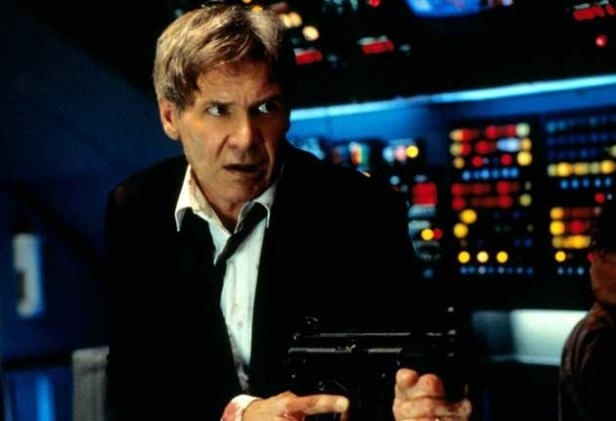 "Harrison Ford in ""Air Force One"""