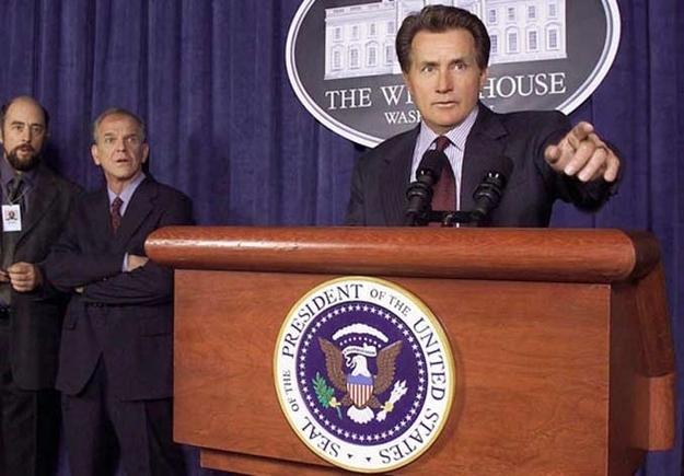 "Martin Sheen in ""The West Wing"""