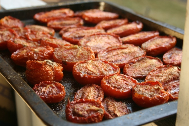 Rescue out-of-season tomatoes by roasting them.