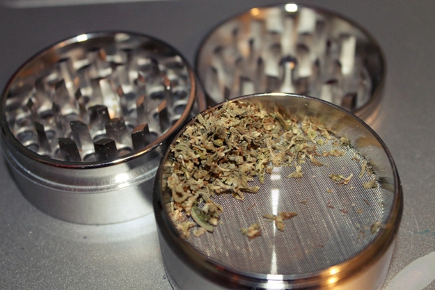 For a stronger cracked pepper flavor, use a weed grinder.