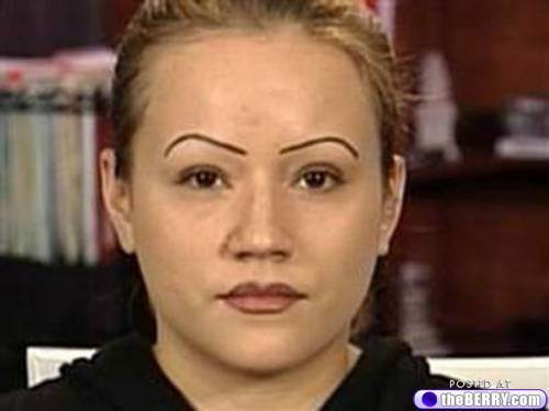 Eyebrows: You're doing them wrong.