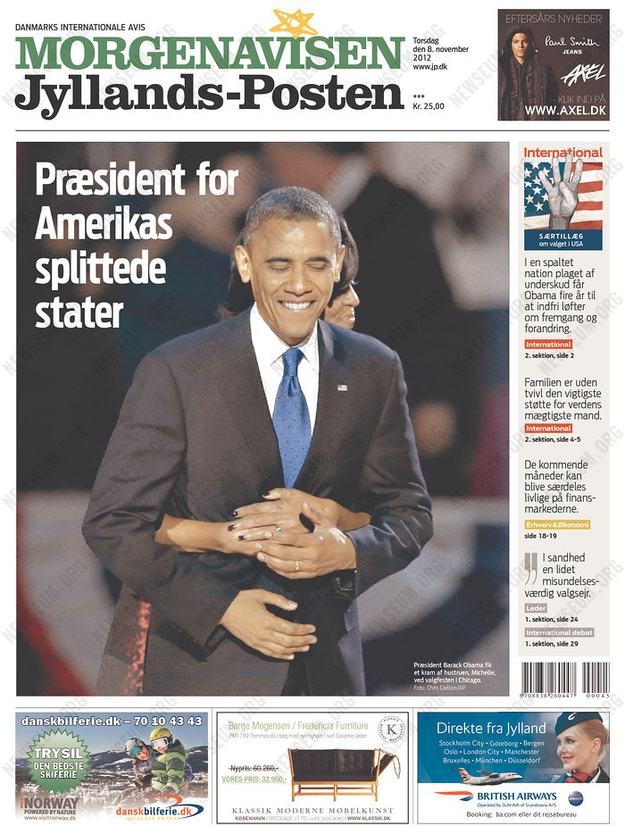 The World Reacts To The Presidential Election от mick за 09 nov 2012