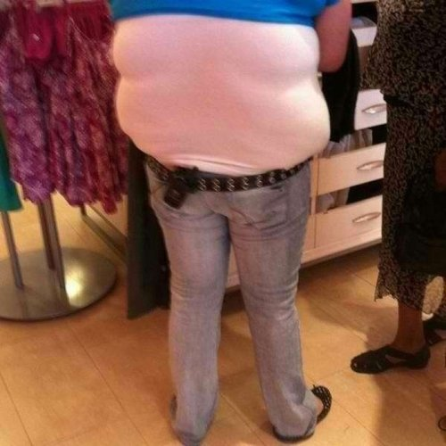 I Like the Girls With the Muffin Top