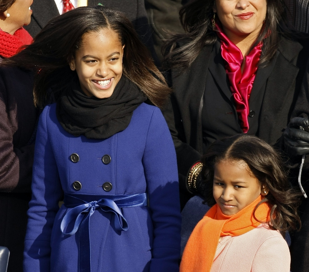 The Sasha And Malia Obama Timeline