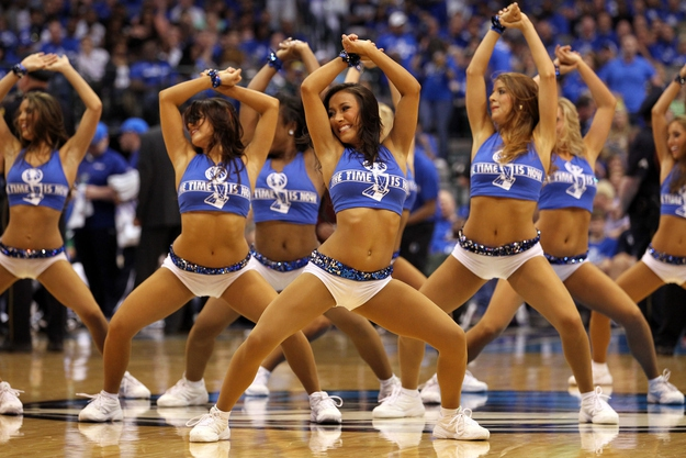 The Dallas Mavericks Cheerleaders' New Uniforms Raise Eyebrows от mick за 12 nov 2012