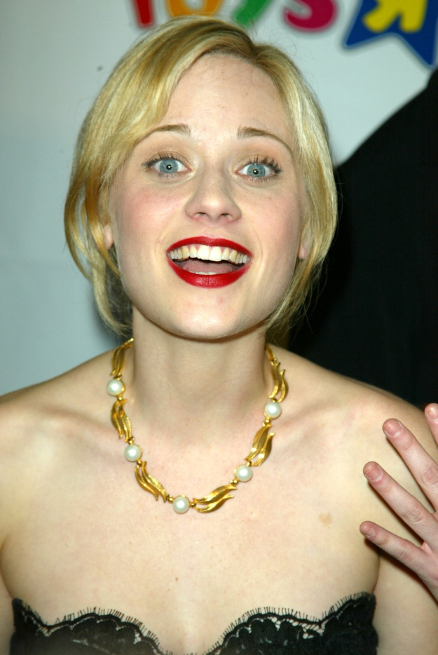 Blonde Zooey Deschanel?