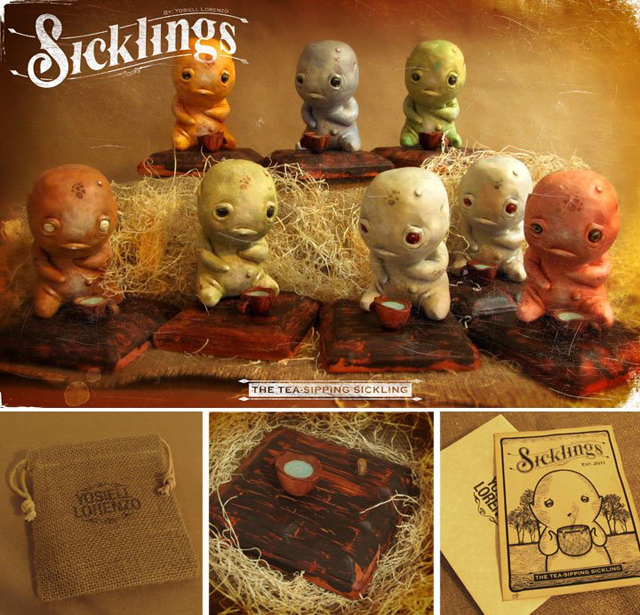 Sicklings: Character Sculpture by Yosiell Lorenzo