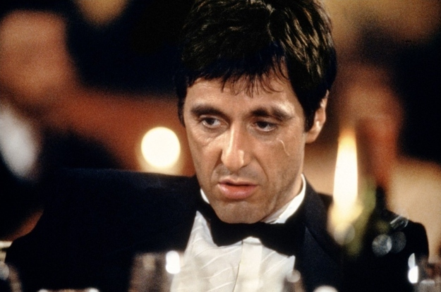 "A popular theory is that the 182 comes from the amount of times the F-word is said in ""Scarface,"" but there's a good cha"