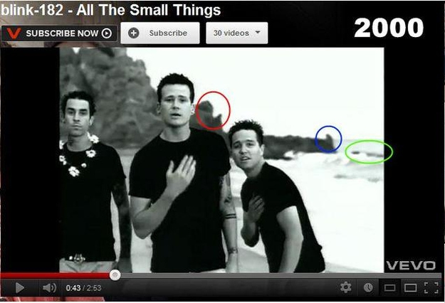 "One Direction's ""What Makes You Beautiful"" was filmed on the same beach as the video for ""All The Small Things"""