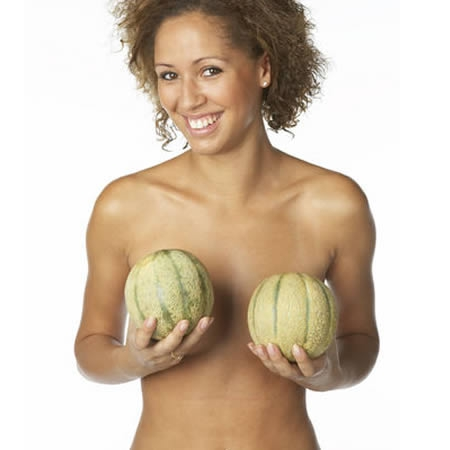 The left breast is usually larger