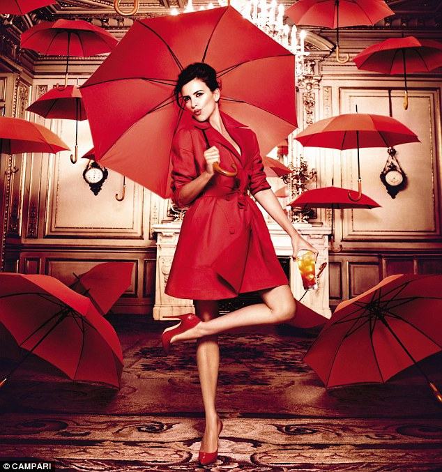 Penelope Cruz In Spell-Binding Campari Calendar Shoot.