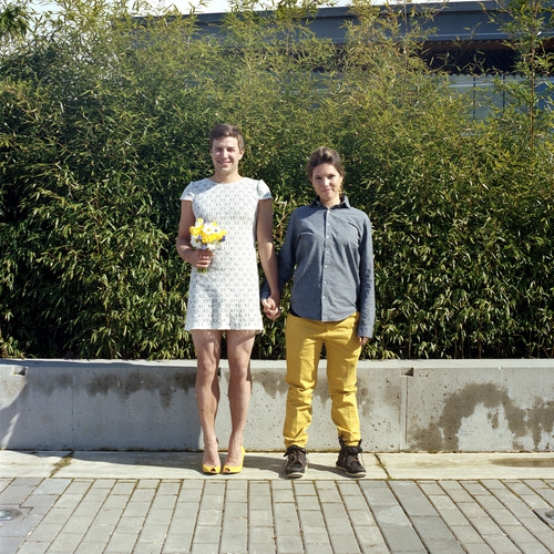 Switcheroo: A Photo Project of Couples Swapping Outfits от Kaye за 13 nov 2012