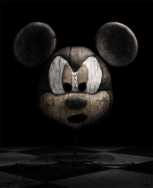 Haunting Hollywood Wood Sculptures