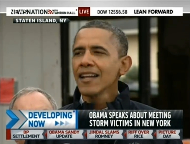 President Obama And Mayor Bloomberg Go Head To Head