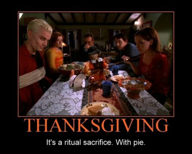 Best Thanksgiving Moments From TV And Movies от Veggie за 15 nov 2012