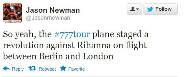 The Most Desperate Tweets from Rihanna's 777 Tour