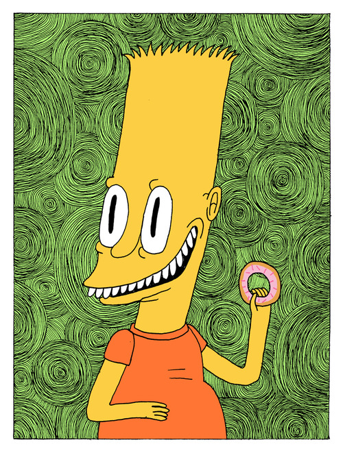 The Simpsons on Acid от Veggie за 19 nov 2012