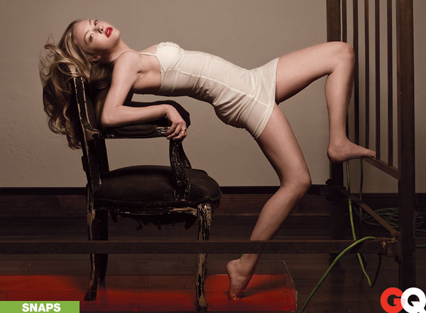 "Amanda Seyfried's Steamy ""Vanity Fair"" Spread"
