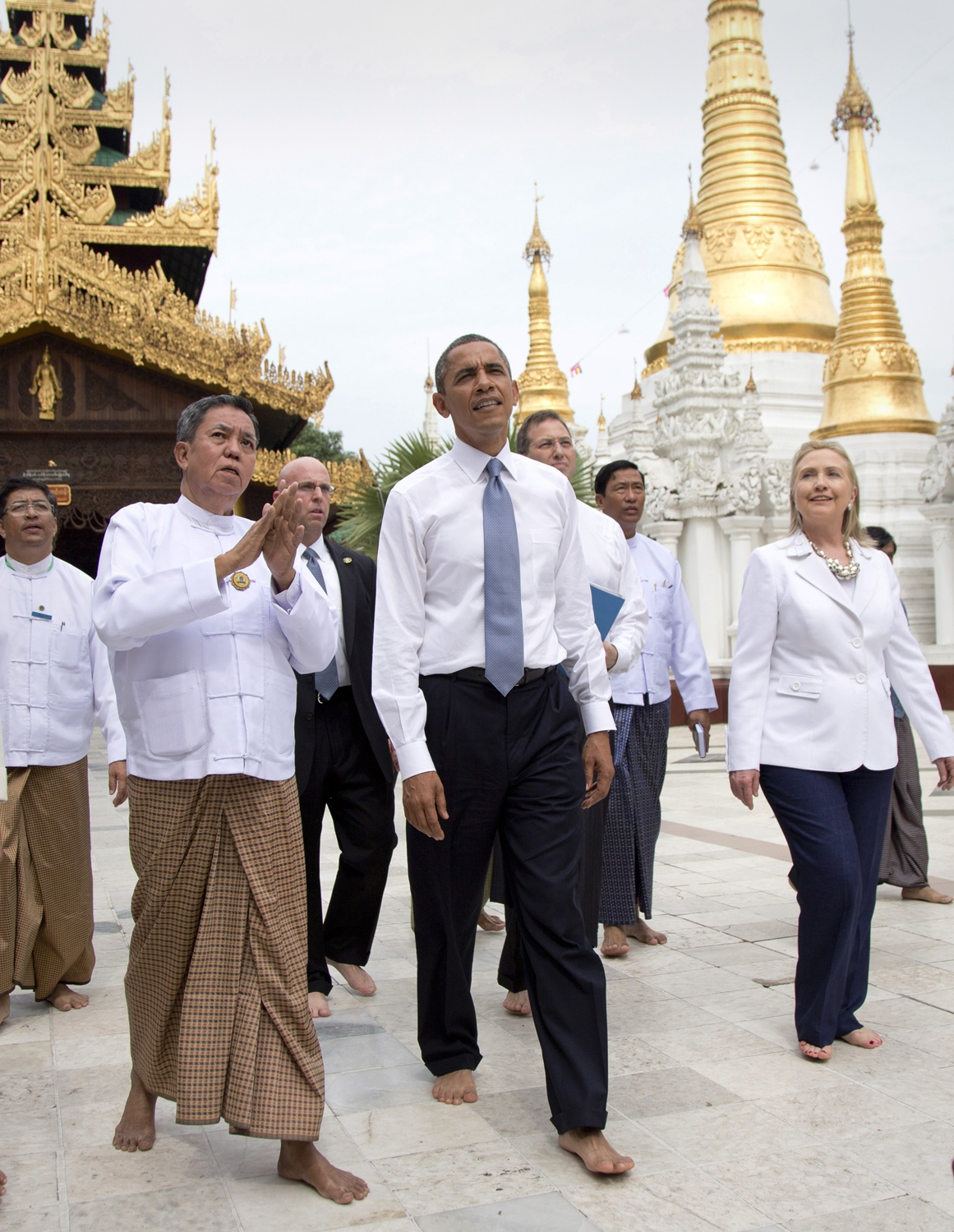 Obama Wins Popularity Contest in Myanmar this Monday