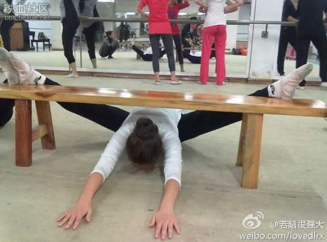 Planking, The Chinese Way