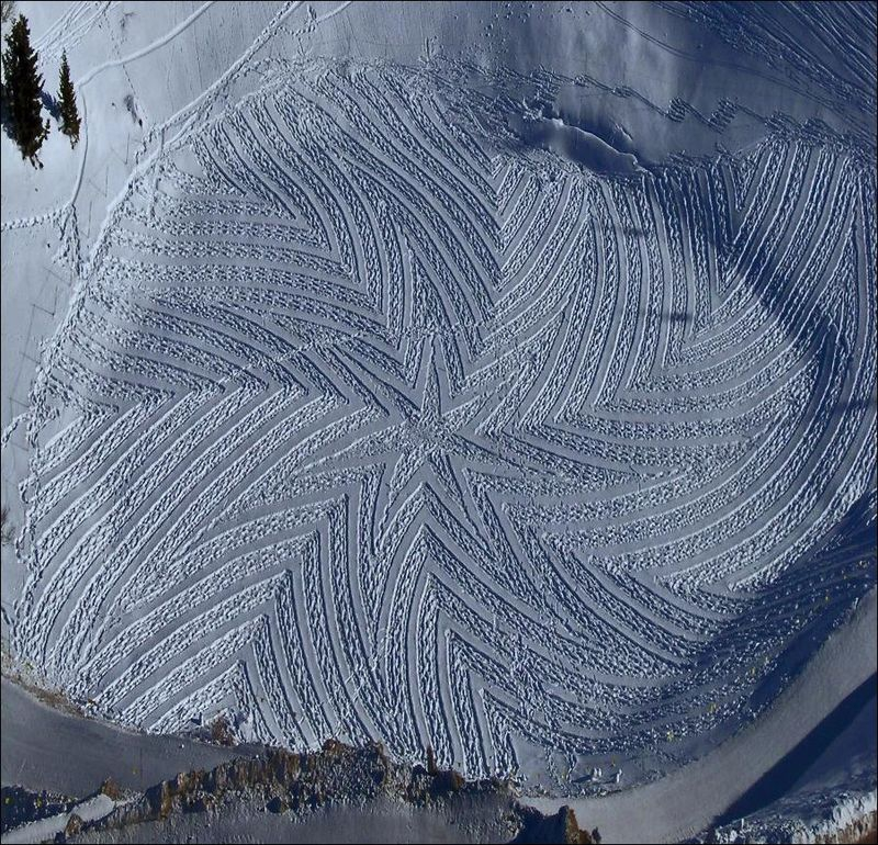 Art on the Snow