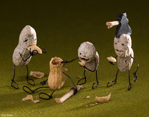 Edible Food Turned Into Witty & Funny Characters