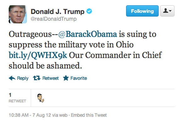 Donald Trump's Twitter Strikes Again  от Marinara за 26 nov 2012