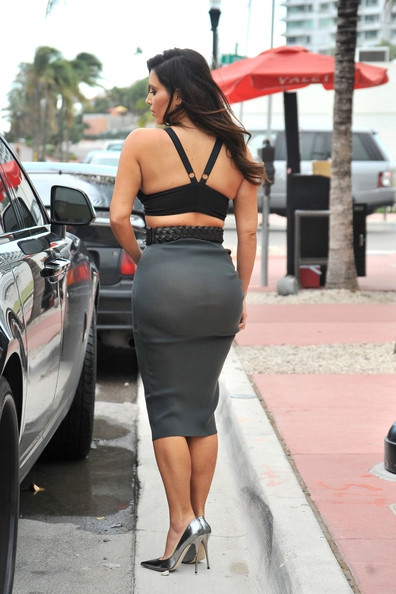 Kim Kardashian's Fashion Ass-Fail