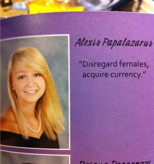 What's in Your High School Yearbook? от Marinara за 26 nov 2012