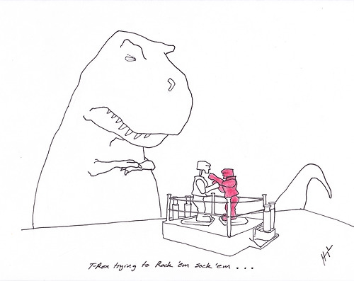 T-Rex Trying... от Veggie за 26 nov 2012
