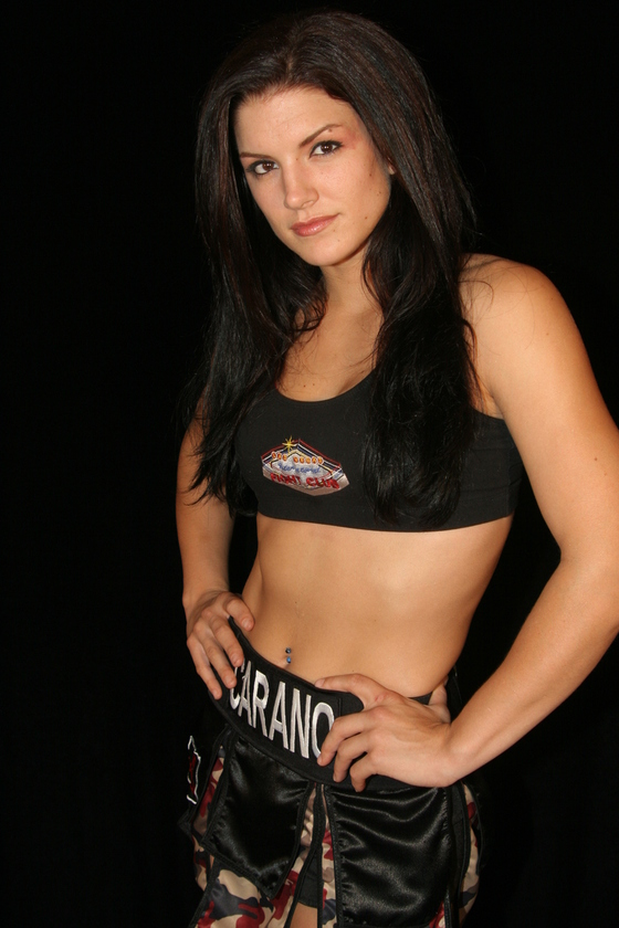 Gina Carano... in case you missed her the first time