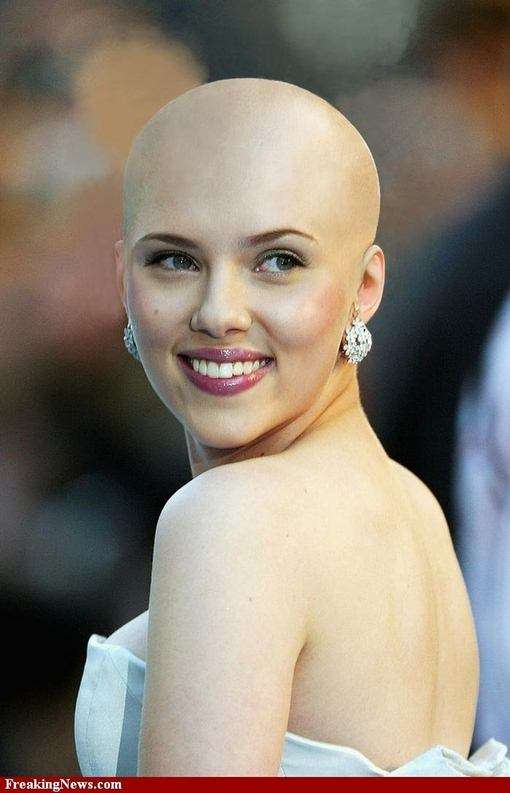 What if your Favorite Celebs were bald?
