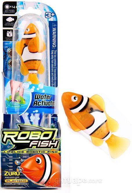 Who Needs Real Fish When You Could Have Robofish!?