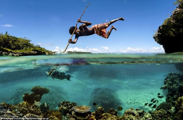 Fish Hunting With a Spear!