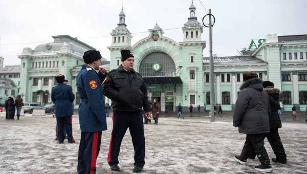 Russian Cossacks return as part of Putin's Moscow street patrol